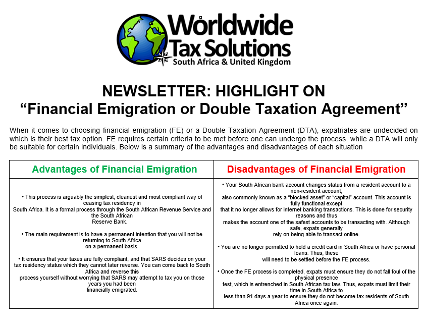Social Media Newsletters Page 16 World Wide Tax Solutions